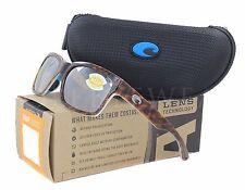 NEW Costa Del Mar Playa Light Tort / White Aqua Silver PY88-OSCP 580P Sunglasses