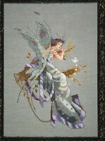 MD Mirabilia  N Corbett MIDSUMMERS NIGHTS FAIRY cross stitch pattern MD 30