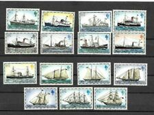 Falkland Is 1978-1982 Mail ships set of fifteen Mint never hinged
