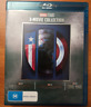 CAPTAIN AMERICA 1-3 Movie Collection [Blu-ray] Marvel Trilogy 1 2 3 Set 123
