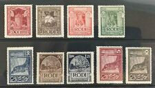 RHODES - ITALIAN AEGEAN ISLANDS - # 55-63 - MINT SINGLES - COMPLETE SET F-VF NH
