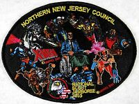 NORTHERN NEW JERSEY NJ OA LODGE 9 2005 SCOUT JAMBOREE JACKET PATCH MARVEL X-Men