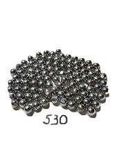 """100 """"Lead balls"""" from soft lead for 54 caliber muzzleloader .530 cal."""