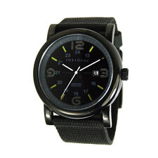 TokyoBay Black Nylon Quartz Analog Men's Watch TM1045-BK