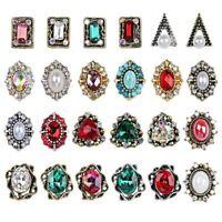 10 x 3D Alloy Rhinestone Glitter Crystal Charms Nail Tips Nail Art Decoration