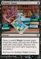 Unhinged Booster Tutor - Foil x1 Moderate Play, English Magic Mtg M:tG