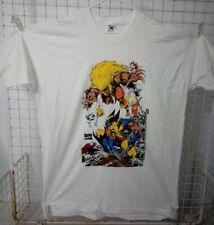 Comic Images Vintage White Wolverine / Sabretooth T-Shirt Adult XXL