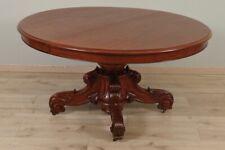 Grand guéridon table de salle à manger acajou Napoléon III