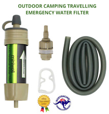 AIMEX MINIWELL WATER FILTER SURVIVAL OUTDOOR CAMPING TRAVEL HIKING WATER FILTER