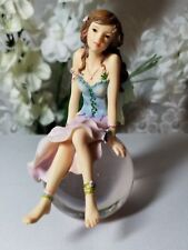 Fairy Figurine Faerie Glen 'Moonglimmer Bubble' NIB Retired