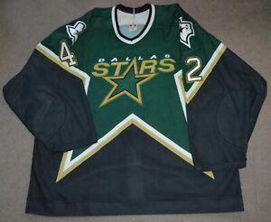 Jon Klemm Dallas Stars 2003-04 Game Worn Used Jersey LOA