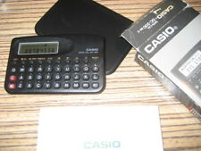 Taschenrechner Casio DC-200 BK-G DATA CAL + Tasche + Anleitung