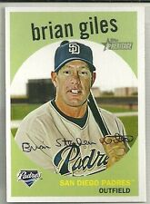 2008 Topps Heritage Baseball Brian Giles High Number SP Card # 455