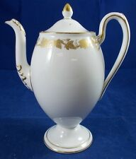 Wedgwood WHITEHALL-WHITE RIM W4001 3 Cup Coffee Pot GREAT CONDITION