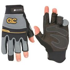 CLC Custom Leather Craft 140L Flexgrip Fingerless Pro Framer XC™ Gloves, Large