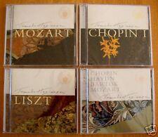 4 Tomoko Hagiwara CD's:Chopin Liszt Mozart Bartok Haydn