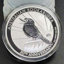 2020 1 oz Australian Kookaburra Silver Proof Uncirculated .9999 30th Anniversary