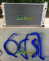 Aluminum Radiator + radiator hose for HOLDEN Commodore VZ LS1 LS2 SS V8 04-06 05