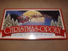 CHRISTMASOPOLY BOARD GAME CHRISTMAS MONOPOLY BRAND NEW