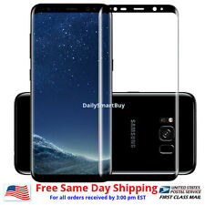 Full Cover Tempered Glass/Flex  Screen Protector For Samsung Galaxy S8 / S8 Plus