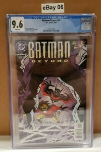 Batman Beyond #4 (1999 Series) CGC 9.6 CERT 3712112007
