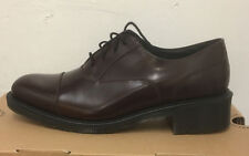 DR. MARTENS HENRIETTA OXBLOOD WAX POLISHED SMOOTH  LEATHER  SHOES SIZE UK 9