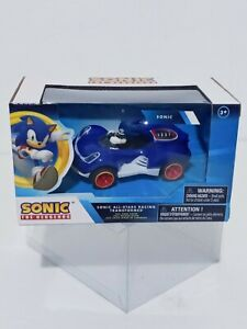 Sonic The Hedgehog All Stars Racing Car Pull Back Action Sega Licensed Kids Toy