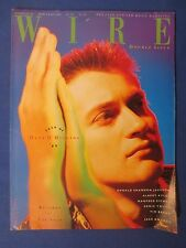 WIRE MAGAZINE NEW YEAR 1989 DAVE O'HIGGINS RONALD SHANNON JACKSON SONIC YOUTH