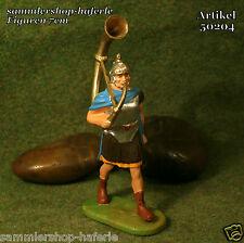 Elastolin/Preiser RÖMER im MARSCH mit Tuba sorgfältig handbemalt 7cm N°50204