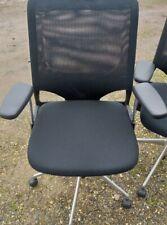 Vitra MEDA 2 Chair Bürodrehstuhl Netz Chromgestell Schwarz