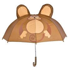 Monkey Child UMBRELLA Cute Colorful Kids Rain Gear 28 inch in diameter