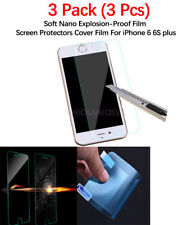 Soft Nano Explosion-Proof Film Screen Protectors Cover Film For iPhone 6 6S plus