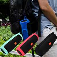 For JBL charge3 Speaker Portable Mountaineering Silicone Case Pouch Protective