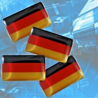 X8 Bandera de Alemania Pegatina Deutsch Interior para BMW Audi VW Golf Mercedes