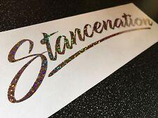 STANCENATION Sticker - Chrome Glitter 60cm Large - STANCE - Gold And Glitter