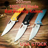 D2 Blade Ball Bearing Knives Folding Knife G10 Handle Camping Hunting Survival