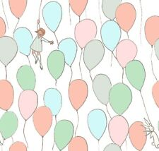 Sarahjane Balloons Pastel Michael Miller Fabric FQ or More 100% Cotton