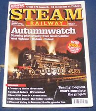 STEAM RAILWAY MAGAZINE  NOVEMBER 13 - DECEMBER 10 2009 NO.369