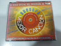 Nuestra mejor Cancion Nino Bravo Alejandro Sanz Alaska Sabina Shrimp - 3 X CD