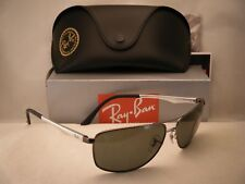 1e00868c43c Ray Ban 3506 Matte Gunmetal w Green Polar Lens NEW sunglasses (RB3506 029 9A