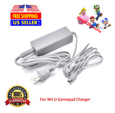 New Power AC Wall Charger Adapter Cable Cord For Nintendo Wii U GamePad