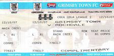 Grimsby Town Football Non-League Fixture Tickets & Stubs