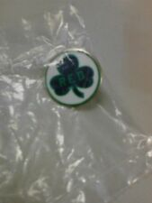 NBA Boston Celtics Red Auerbach Clover Pin Brand New In Unopened Package