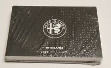 2018 Alfa Romeo Stelvio Suv Owners Manual User Guide V4 2.0L Ti Base New Oem Set