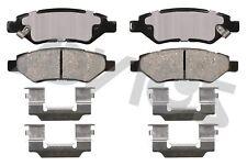 Disc Brake Pad Set-Ultra-premium Oe Replacement Rear ADVICS AD1337