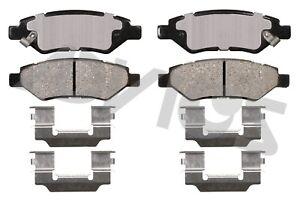 Disc Brake Pad Set-Base Rear ADVICS AD1337