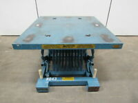 YEAR-A-ROUND CORP 1500 LB Spring Level Loader PalletPal Style Lift Table Lot/1