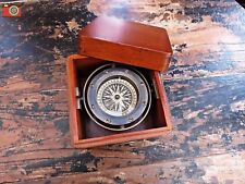 A HIGH QUALITY VINTAGE STYLE LIFEBOAT COMPASS. AUTHENTIC MODELS