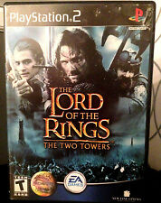 Lord of the Rings: The Two Towers (Sony PS 2) Action/Adventure T-Teen