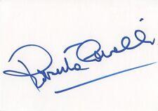 """Roberto CAVALLI """"fashion designer"""" AUTOGRAFI SIGNED 10x15 cm linguette"""